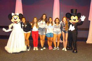 Fiesta en Orlando con personajes
