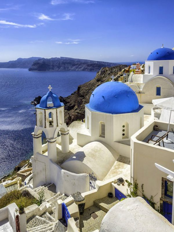 Casas en Santorini