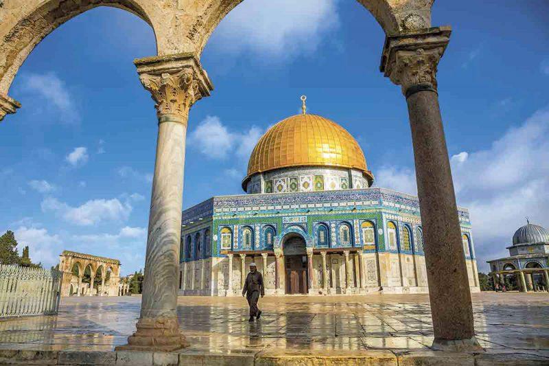 Jerusalem Cúpula de la roca, Mezquita de Omar