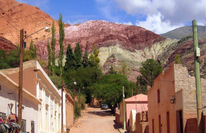 Jujuy cerro de los siete colores Purmamarca